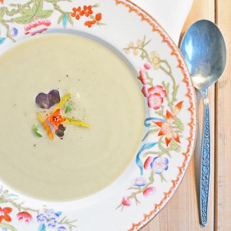 Crème de Céleri-rave et Poireaux