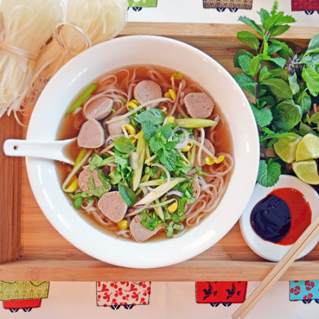 Soupe Style Tonkinoise à ma Façon