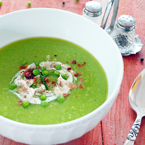 Iced Cucumber Soup With Mint, Watercress, And Feta Cheese Recipes ...