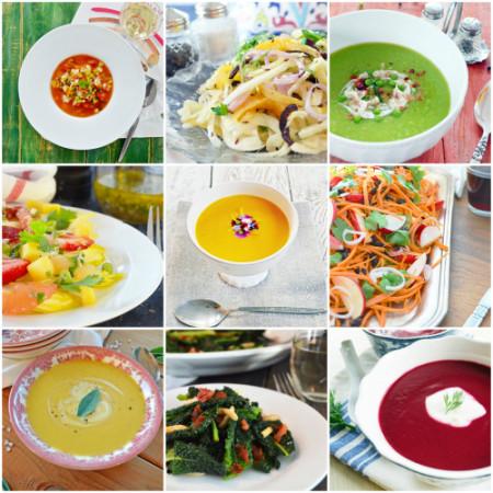 9 Soupes et Salades de RC